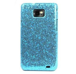 1PC Bling Glitter Hard Back Cover Case For SAMSUNG GALAXY S II S2
