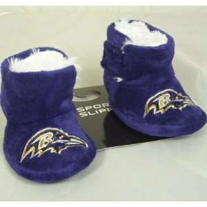 Baltimore Ravens NFL Baby High Boot Slippers