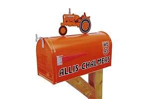Allis Chalmers WD 45 Rural Mailbox Mail Box