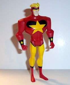 LEAGUE Unlimited STARMAN red star man animated dc universe