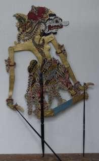 Wayang Kulit Indonesie Schattenspielfigur Marionette Shadow Puppet
