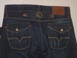 LOW RISE SLIM STRAIGHT FIT CINCH BACK BALUS TRADE WASH JEANS 30