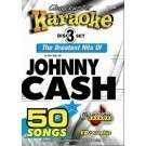 Johnny Cash 50 Song Set   Chartbuster Karaoke 5050