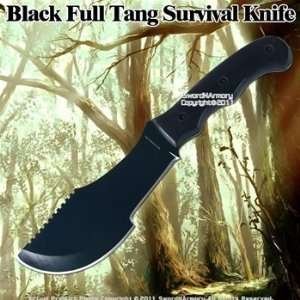 Full Tang Tactical Survival Knife Pakka wood Handle