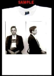 JOHNNY CASH MUGSHOT CUSTOM T SHIRT TEE walk line 500