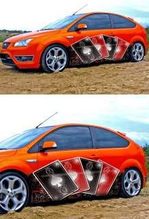 CAR VINYL STICKER DECAL COLOR GRAPHICS CASINO #6