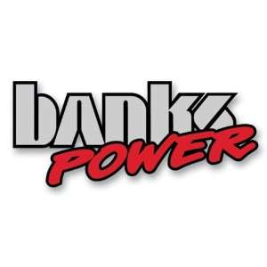 Banks Power 96004 Vinyl Die Cut Decal; Banks Power Logo; Small; 4.25