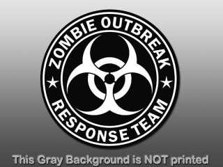 Response Team Sticker   decal biohazard sign star funny GO