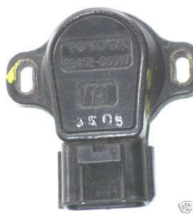 90 99 TOYOTA TPS THROTTLE POSITION SENSOR 89452 06010