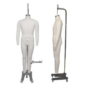 Full Body Professional Male Dress Form Mannequins Size 42