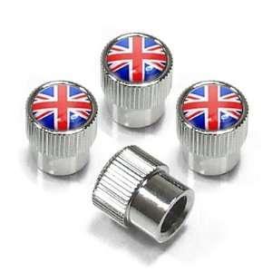 Flag Union Jack Tire Stem Valve Caps for MINI Cooper Automotive