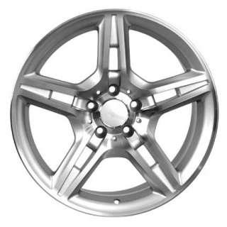 18 Rim Fits Mercedes AMG Wheels   Silver 18x8.5 SET