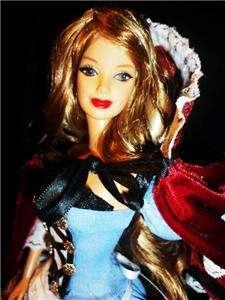 Hood & Wolf ~barbie doll & ken doll ooak fairy tale baby doll