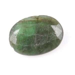Ct Natural Untreated Green Emerald Oval Shape Loose Gemstone Jewelry