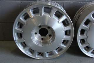 96 99 Cadillac Deville 16 Factory Alloy Wheels (Set of 4)