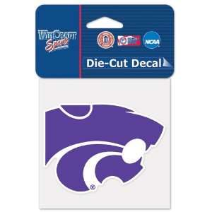 Kansas State University Die Cut Decal 4x4