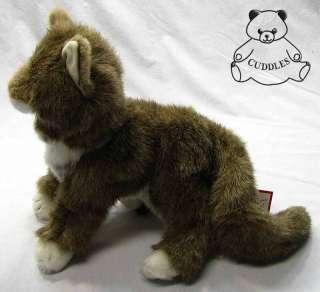 Cat Douglas Cuddle Plush Toy Stuffed Animal Realistic Mane BNWT