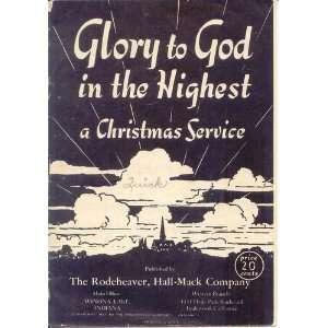 Homer A. (Publisher) Rodeheaver, B/W Church Sunrise Cover Art: Books