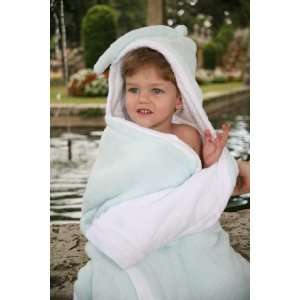Luxurious Hooded Baby Towel for Boys (Blue)   Unique Baby Shower Gift
