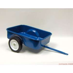 Blue Steel Pedal Tractor Trailer Toys & Games