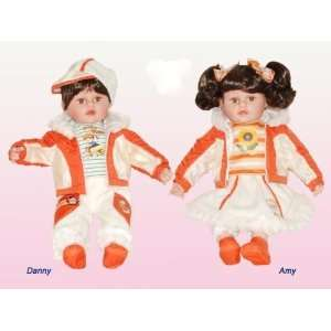 Lovely Pair 20 Cathay Collection Vinyl Doll: Toys & Games