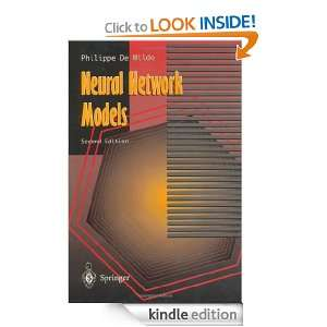 Neural Network Models Theory and Projects, 2nd Edition Philippe de