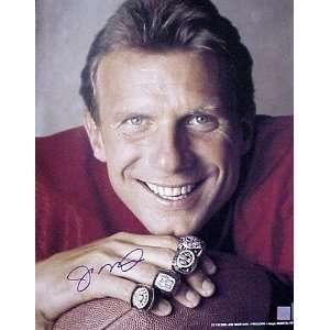 Joe Montana San Francisco 49ers  Super Bowl Rings  8x10