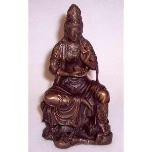Buddhist Statue, Quan Yin; 6 1/2 Health & Personal Care