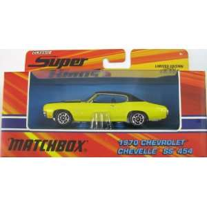 Matchbox Super Kings K 202 1970 Chevrolet Chevelle SS454 Collector