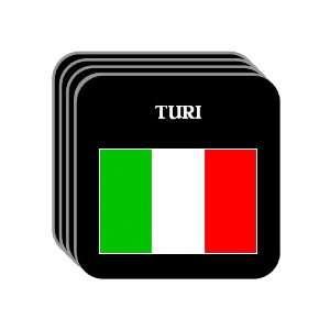 Italy   TURI Set of 4 Mini Mousepad Coasters: Everything