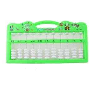 Digits Maths Aid Education Japanese Soroban Abacus Green Toys & Games