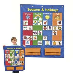 Seasons And Holidays Pocket Chart   Teacher Resources