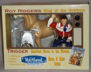 03 New in Box Hartland Roy Rogers & Trigger horse set