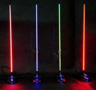BLUE PLASMA Light Lamp Sound Music Activated Sensitive