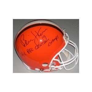 Bernie Kosar Autographed Cleveland Browns Full Size Football Helmet