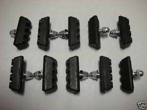 10 BOLT BICYCLE BIKE 10 SPEED BRAKE PADS NEW