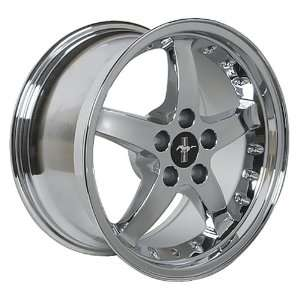 Ford Mustang Cobra R Style Wheel Chrome Wheels Rims 1994