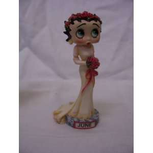 Danbury Mint Betty Boop Calendar Figure, June Everything