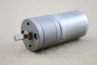 12V DC 400RPM Powerful High Torque Gear Box Motor