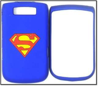 BLACKBERRY TORCH 9800 SUPERMAN COVER CASE FACEPLATE PROTECTOR SNAP