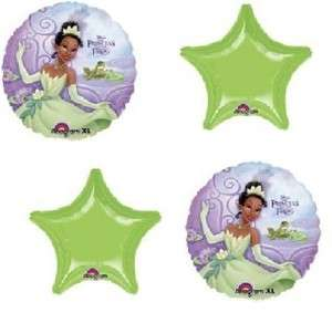 PRINCESS AND THE FROG BALLOON BOUQUET SET, GIRLS BIRTHDAY, FREE