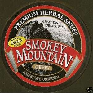Smokey Mountain Tobacco Free Chew CHERRY