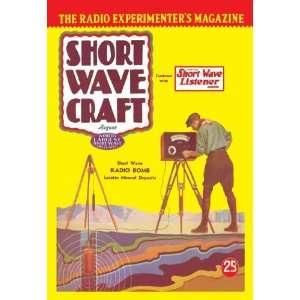 Short Wave Craft Short Wave Radio Bomb Locates Mineral Deposits 28X42