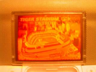 Blockbuster Video Gold Hologram Tiger Stadium Detroit Tigers