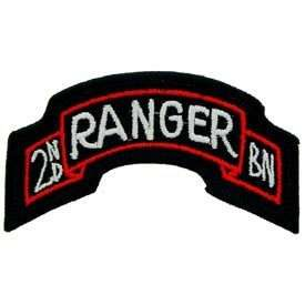 2ND RANGER BATTALION TAB US ARMY MILITARY PATCH PM0610