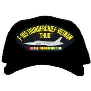 F 105 Thunderchief Thud Vietnam Ball Cap: Everything