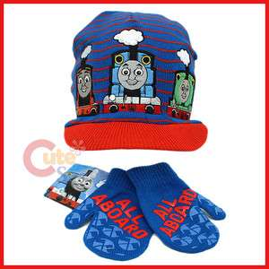 Thomas Tank Engine & Friends Gloves Cap Beanie Set Red Cap /Thoams