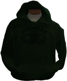 Airborne CT Special Forces Ranger Army Military Hoodie