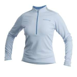 Cannondale Womens Midweight Cycling Jersey (Light Blue
