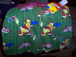 Homer Kissing Marge Simpson Christmas Boxer Shorts